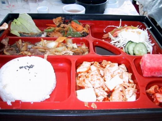 2日目 昼食 和風中華弁当@四川料理