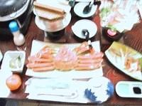 網野の料理旅館「佐竹」本格、蟹尽くしと久美浜温泉大露天風呂