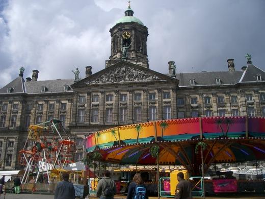 アムステルダムの街を散策@オランダ