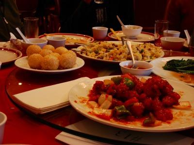 1日目 昼食(チャイナタウン)~ゴールデンゲートブリッジへ