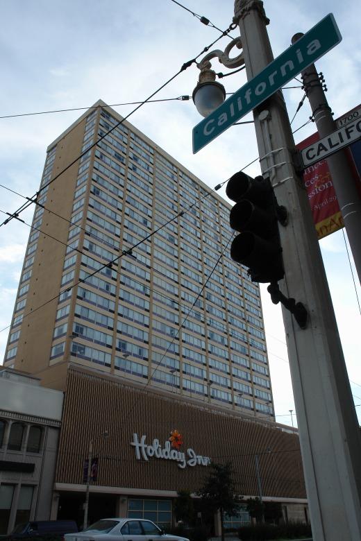 1日目 ホリデーイン・ゴールデンゲイドウェイホテル(Holiday Inn San Francisco Golden Gateway) 到着!