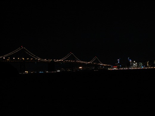 3日目 ナイト・イン・シスコ(OP) トレジャーアイランド ツインピークス夜景へ
