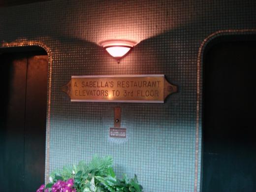 3日目 シーフードレストラン A.Sabella'sRestaurant へ
