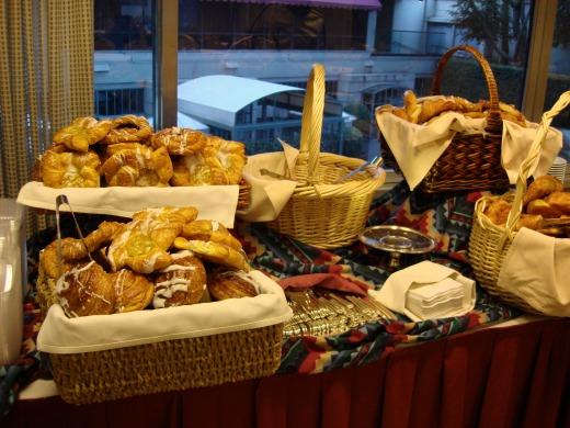 5日目 ウィルシャールームで朝食
