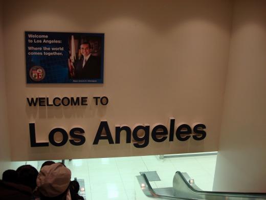 4日目 ロサンゼルス空港に到着