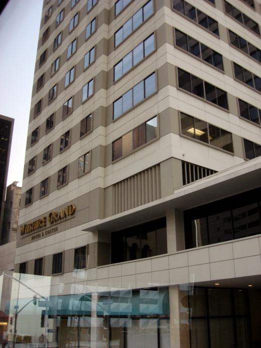 4日目 LA ウィルシャーグランドホテル(WILSHIRE GRAND)に到着