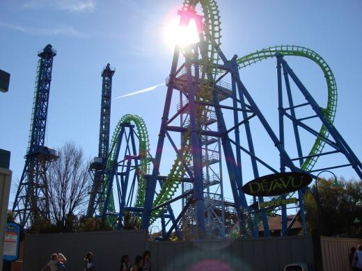 7日目 マジックマウンテン(Six Flags Magic Mountain) 後半編