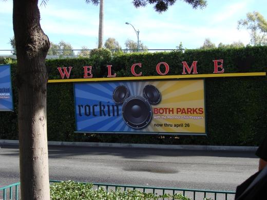 8日目 ディズニー・カリフォルニア・アドベンチャーへ出発