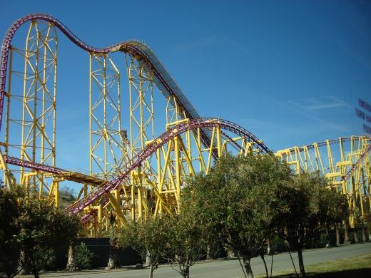 7日目 マジックマウンテン(Six Flags Magic Mountain)へ出発です。