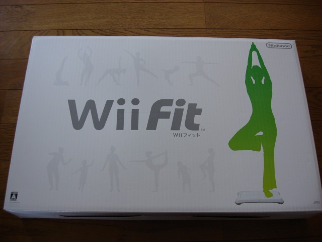 Wii Fitを購入!