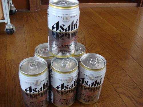 10万人モニターサンプル アサヒ クールドラフト 350ml缶×6本が当選!