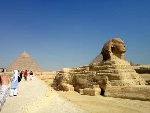 6日目 エジプトと言えば誰もが思い浮かべる スフィンクスへ