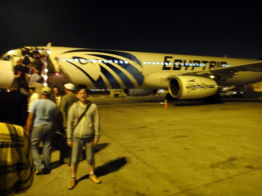 2日目 カイロ空港からルクソール空港へ
