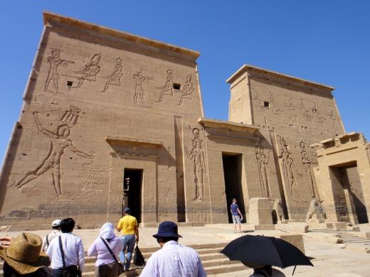 4日目 イシス神殿へ@フィラエ