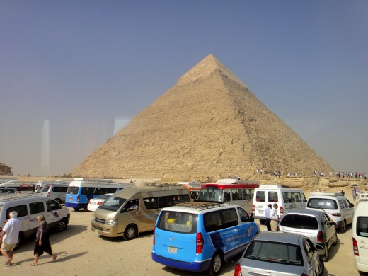 6日目 カフラー王のピラミッドとメンカウラー王のピラミッド