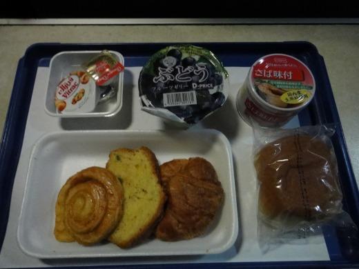 6日目 朝食 ナイルエクスプレス寝台特急列車 ギザ駅到着。