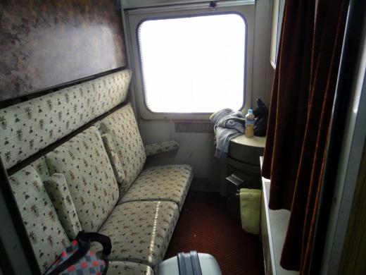 5日目 ナイルエクスプレス寝台特急列車の中をご紹介!