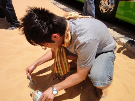 5日目 ヌビア砂漠へ