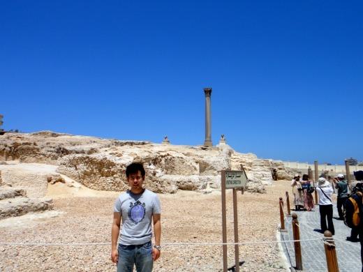 2日目 ポンペイの柱へ@エジプト、アレクサンドリア