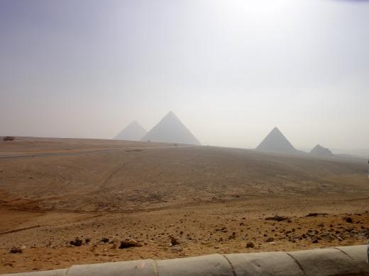 6日目 ピラミッドパノラマポイントへ