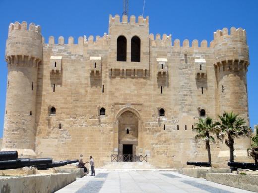2日目 カーイトゥベーイ(カイトベイ)要塞へ@アレクサンドリア、エジプト