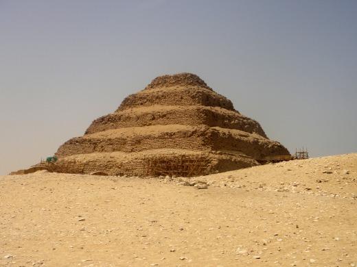 6日目 階段ピラミッド(ジョセル王のピラミッドコンプレックス)へ
