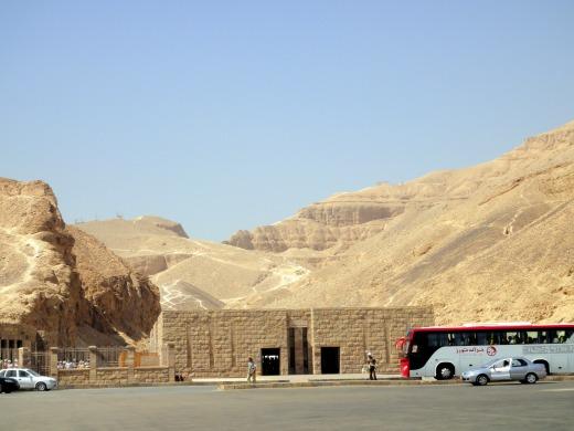 3日目 王家の谷へ@エジプト、ルクソール