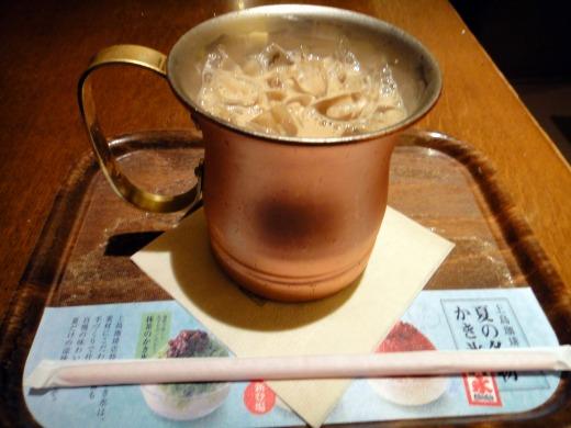 アイス黒糖ミルク珈琲(L)@上島珈琲 神戸空港