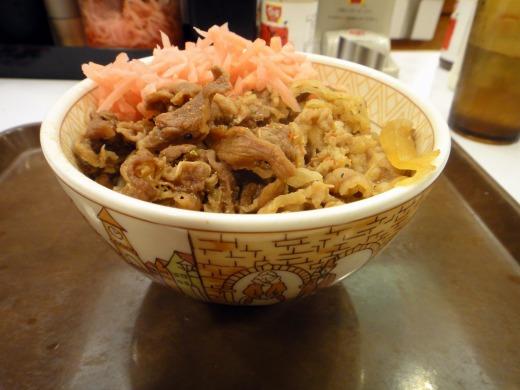 すき家 優待券1枚で牛丼並と牛丼並弁当をゲット!!