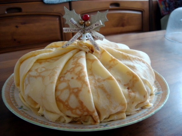 ミルクレープのクリスマスケーキ 2008