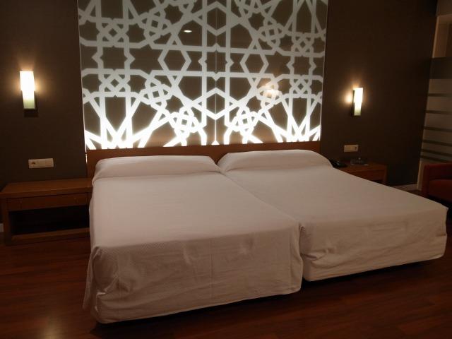 4日目 ジュニアスイートルームに泊まる!@AHグラナダパレス(AH Granada Palace)