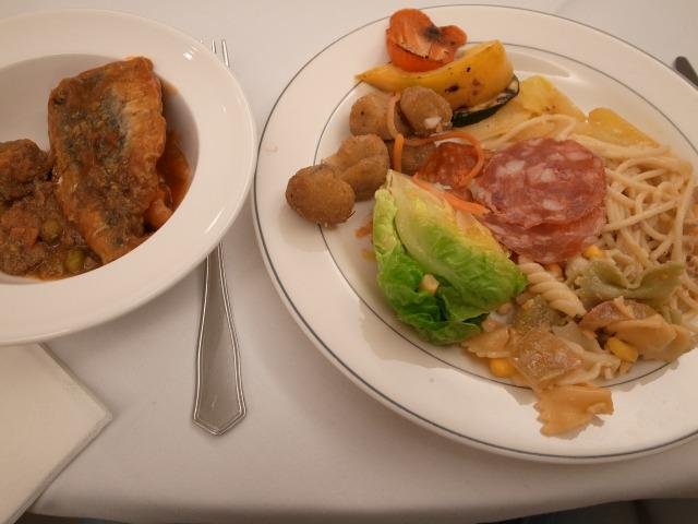 4日目 夕食 AHグラナダパレス(AH Granada Palace)にて