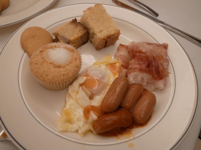 5日目 朝食 AHグラナダパレスにて