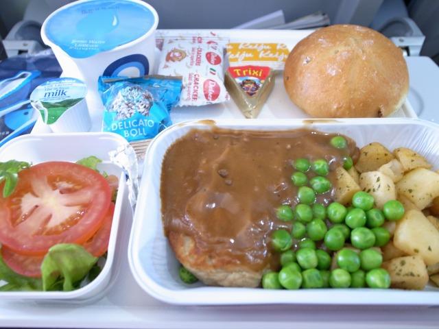 7日目 ヘルシンキから関空へ 機内食