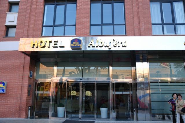 2日目 アルブフェラベストウエスタンホテル(Best Western Albufera)に到着@バレンシア