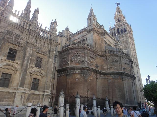 5日目 世界遺産 世界で3番目に大きいカテドラル(セビリア大聖堂)へ