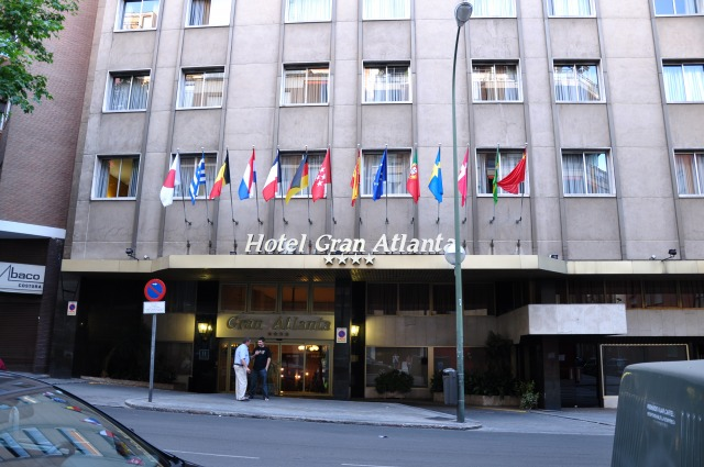 3日目 グラン アトランタホテル(GRAN ATLANTA)に到着@マドリード
