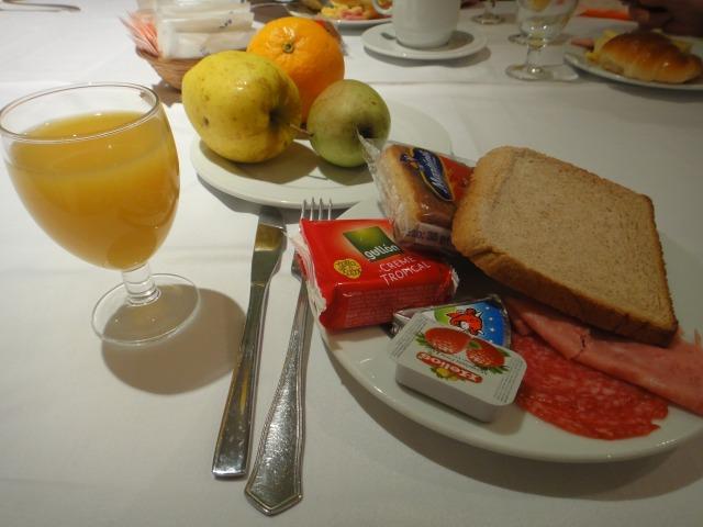 4日目 朝食 グラン アトランタホテルにて