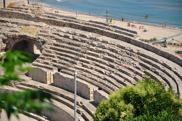 2日目 世界遺産 タラゴナ ローマ遺跡群へ