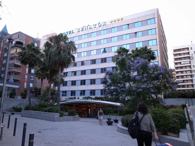 1日目 バルセロナ SENATOR(セナトゥール)ホテルに到着