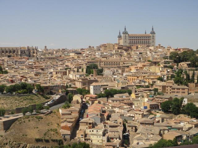 3日目 世界遺産 中世の街並みがそのまま残るトレド@パノラマスポット