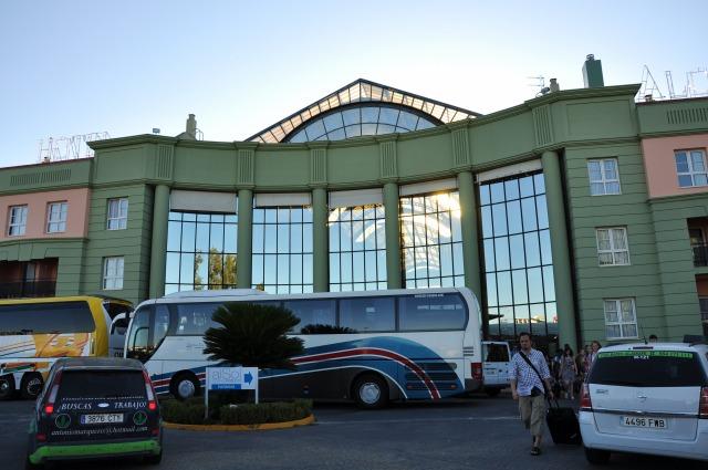 5日目 TRHアルコラホテルに到着@セビージャ