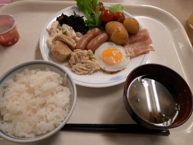 2日目 上山館33階で朝食@ホテル浦島