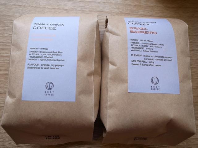 NOZY COFFEEで珈琲豆を買ってカフェで寛ぎました@三宿