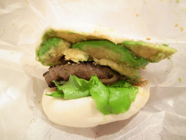 R BURGER(羽田国際線空港ではこのお店がリーズナブル!)でアボガドわさびバーガーを食べました@羽田国際空港