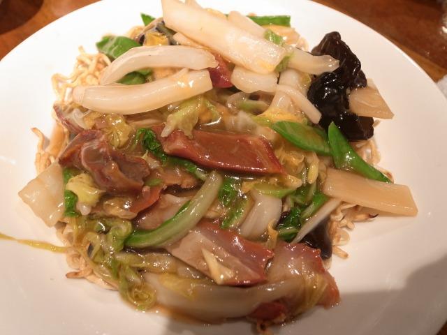 パンダレストランで「チャーシュー入りやきそば」を食べました@渋谷