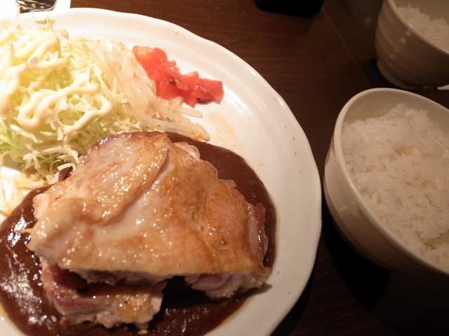 だれんちで「チキンステーキ定食」を食べました@渋谷