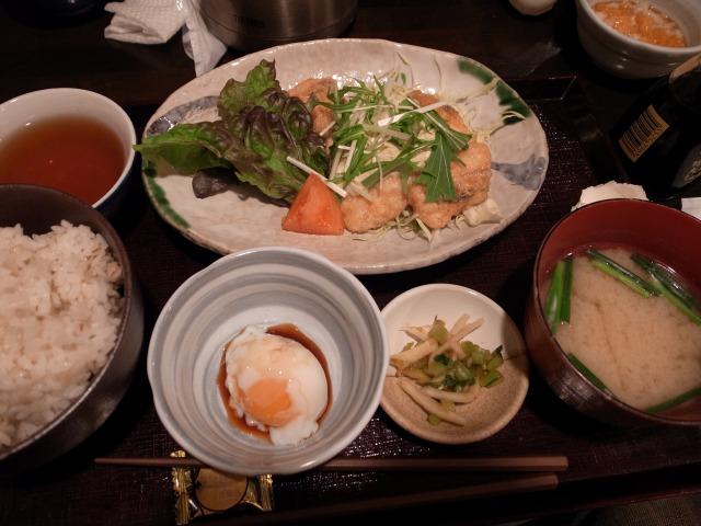 ひしゅうやで「びびん南蛮ランチ」を食べました@神泉