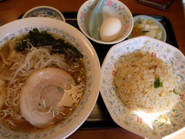 中華料理 精陽軒で「半チャーハン+ラーメン」を食べました@渋谷 宮益坂