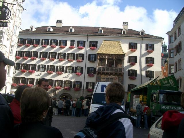 18日目 オーストリア インスブルグ散策
